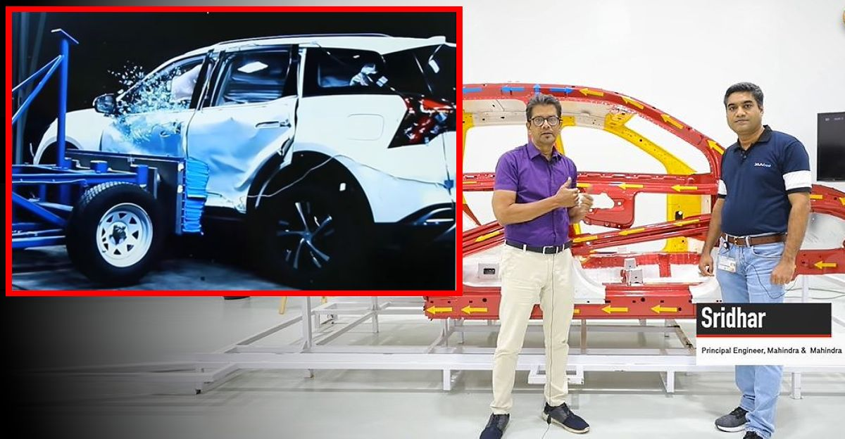 Mahindra engineer explains how the XUV700 has been engineered for top class safety [Video]