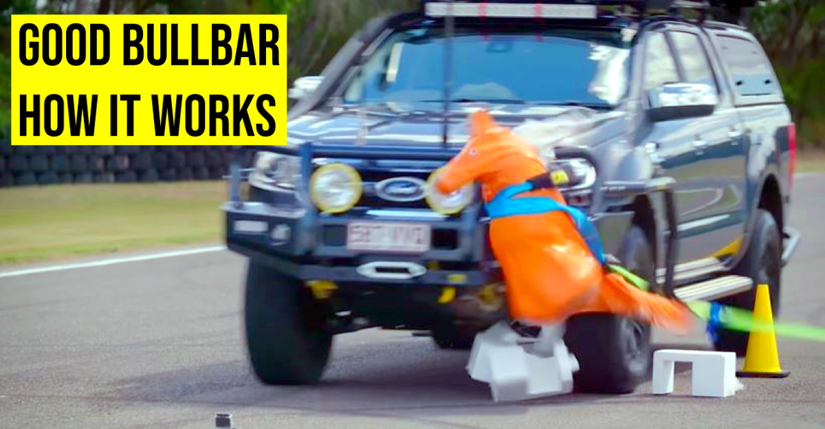 Why a properly designed bullbar is allowed in some countries [Video]