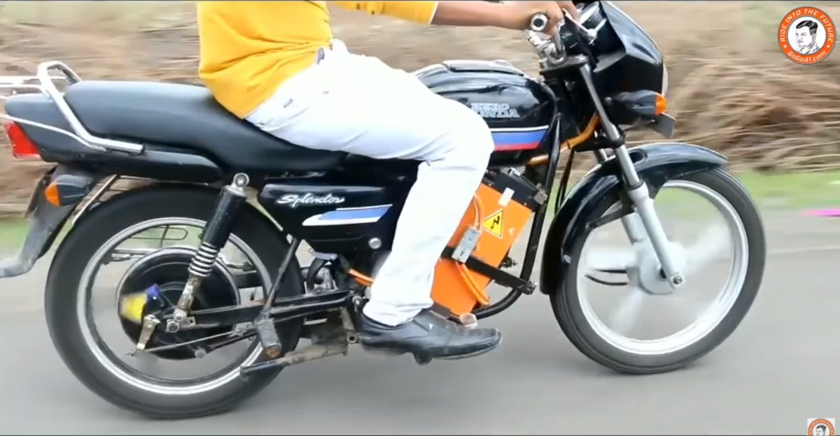 India's first RTO approved electric conversion kit for motorcycles [Video]