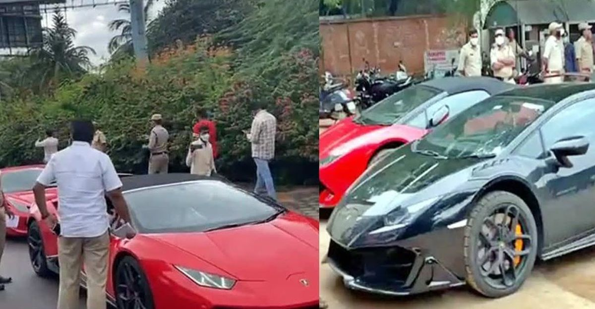 Mercedes-AMG GT, Lamborghini Huracan & 9 other supercars seized for alleged tax evasion