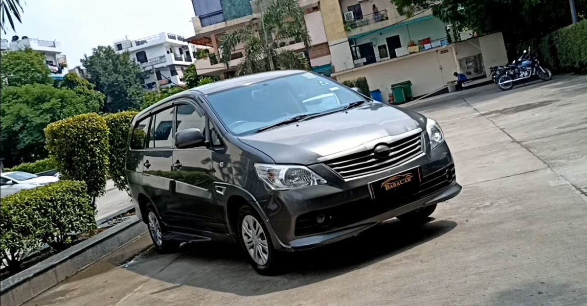 Luxurious DC Design Toyota Innova selling at hatchback prices