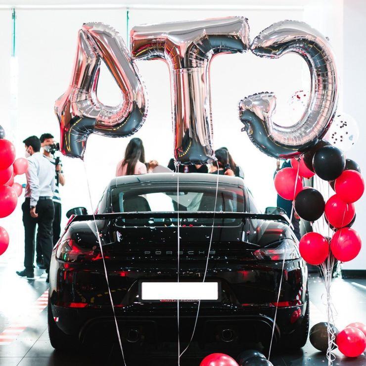 Millionaire Amit Singh gets a new Porsche 718 Cayman GT4 sports car