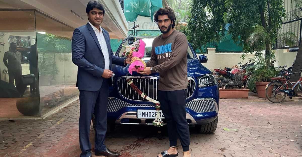 Arjun Kapoor buys a Maybach GLS600 SUV, after his June ride in Ranveer Singh's Maybach