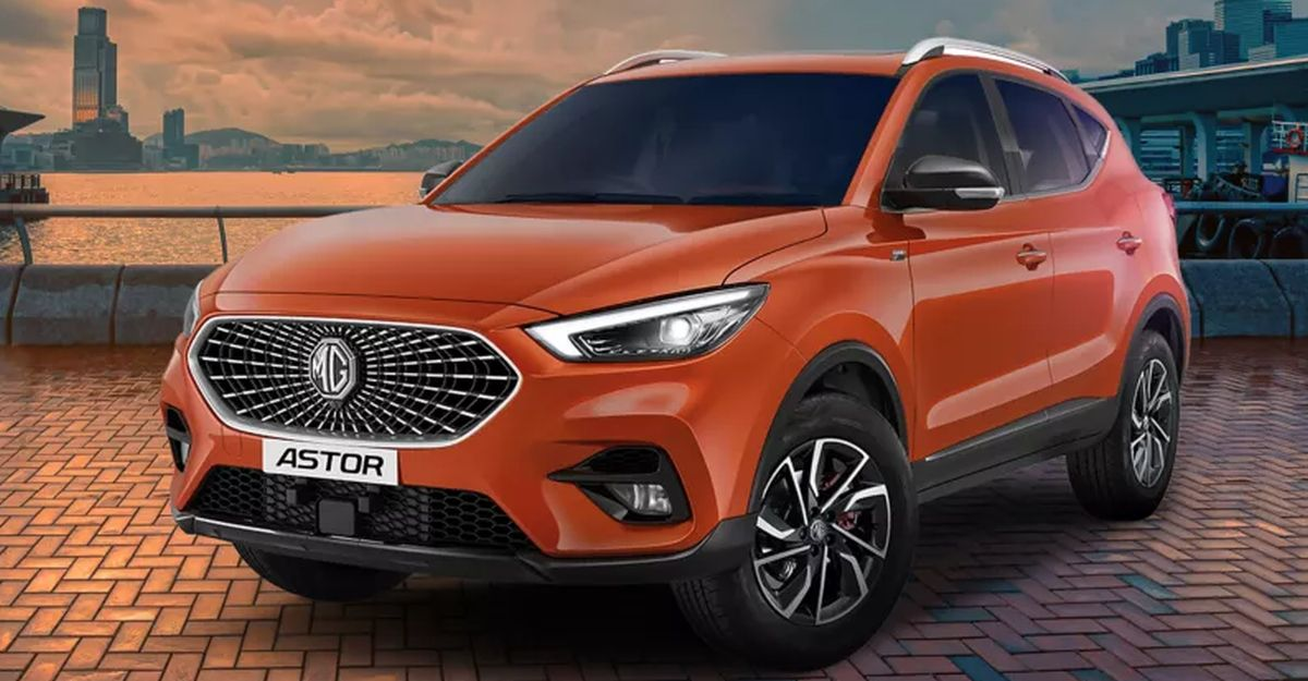 MG Astor: Features of upcoming SUV showcased in official video