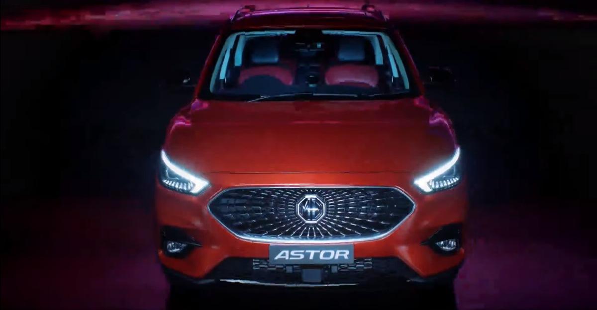 MG Astor compact SUV unveiled officially: Rivals Hyundai Creta & Kia Seltos