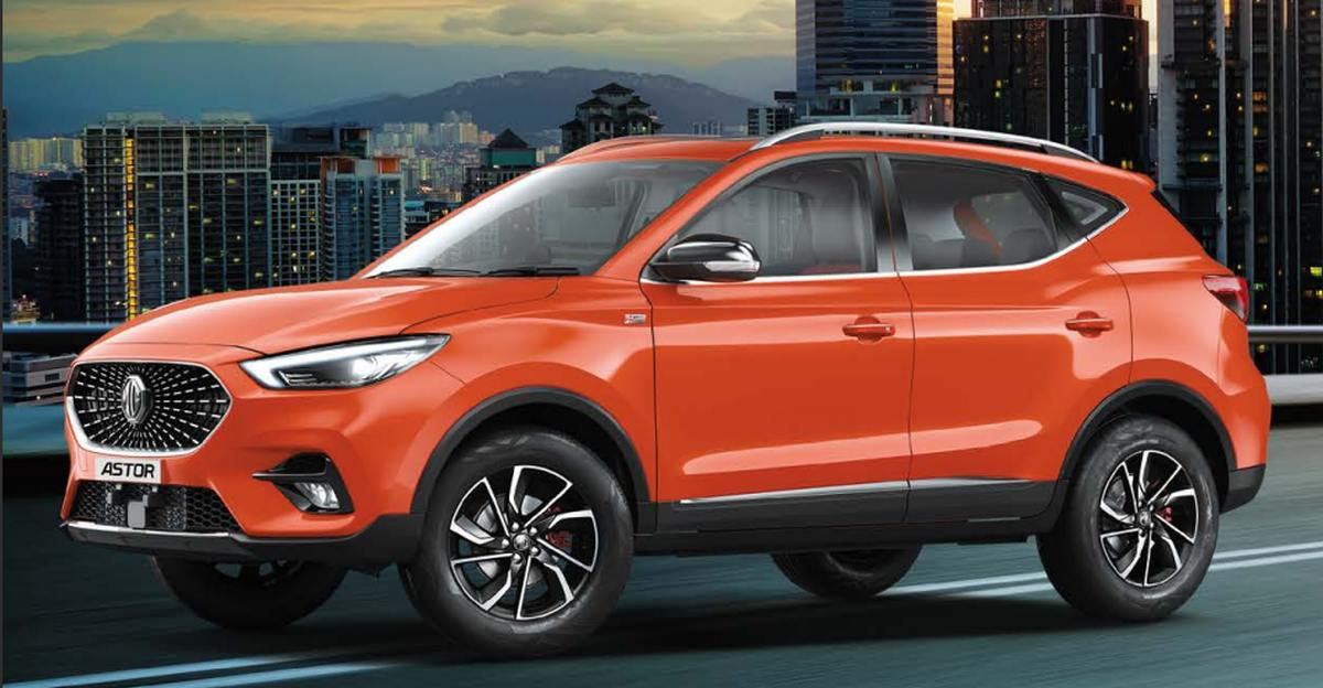 MG Astor variant line-up leaked ahead of launch