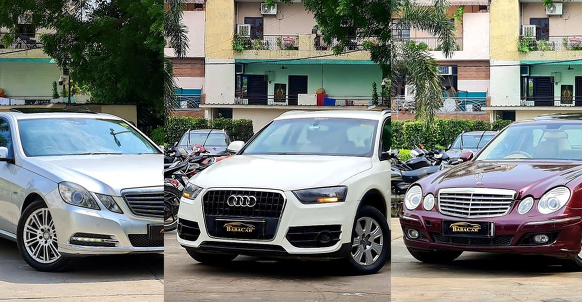 Well kept Audi & Mercedes Benz luxury cars starting from just Rs. 4.75 lakh
