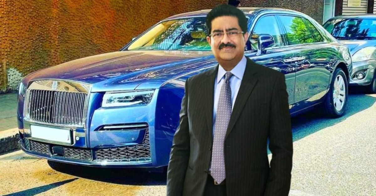 Billionaire Kumar Mangalam Birla spotted in his new multi-crore Rolls Royce Ghost