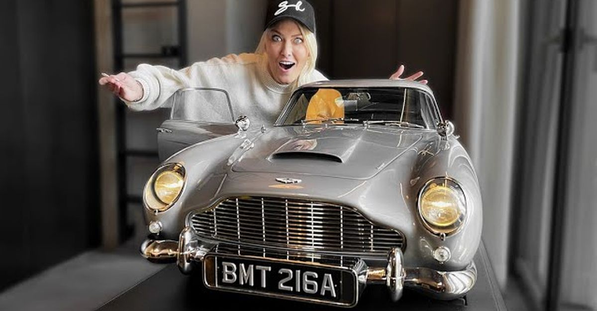 This James Bond Aston Martin DB5 is the world's most expensive toy car