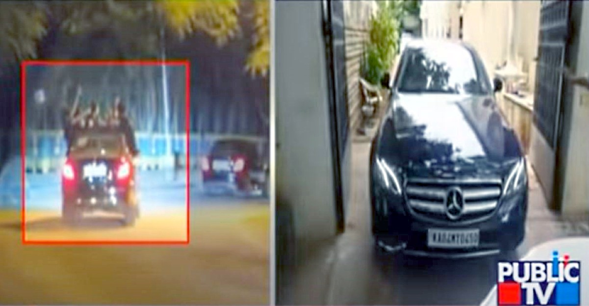 Mercedes-Benz E-Class seized in Bangalore after youth caught partying on moving car