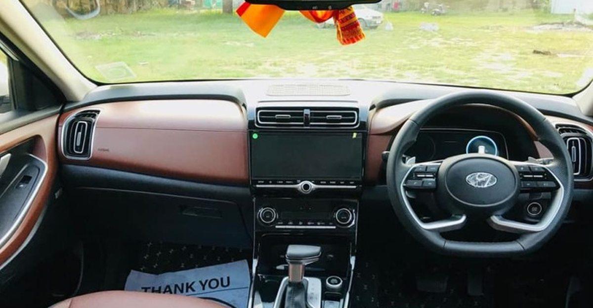 Hyundai Alcazar SUV's interiors modified to look more premium
