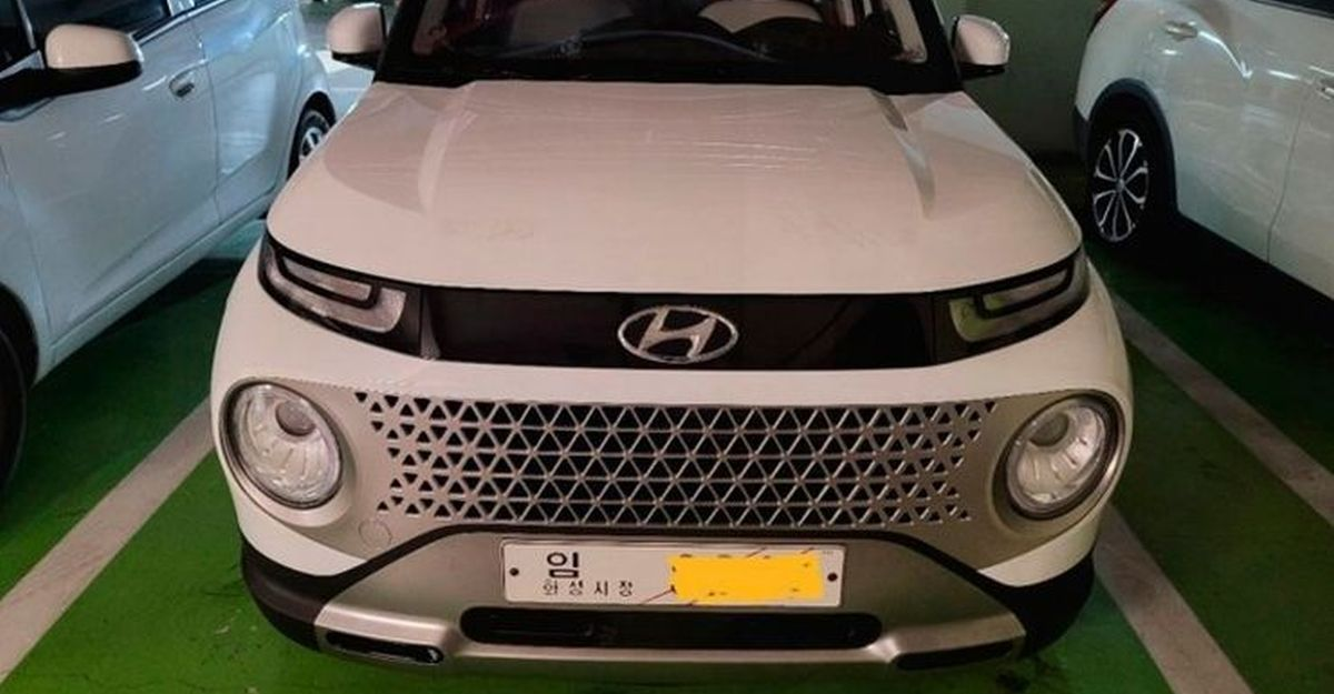 Hyundai Casper micro SUV: First live images are out
