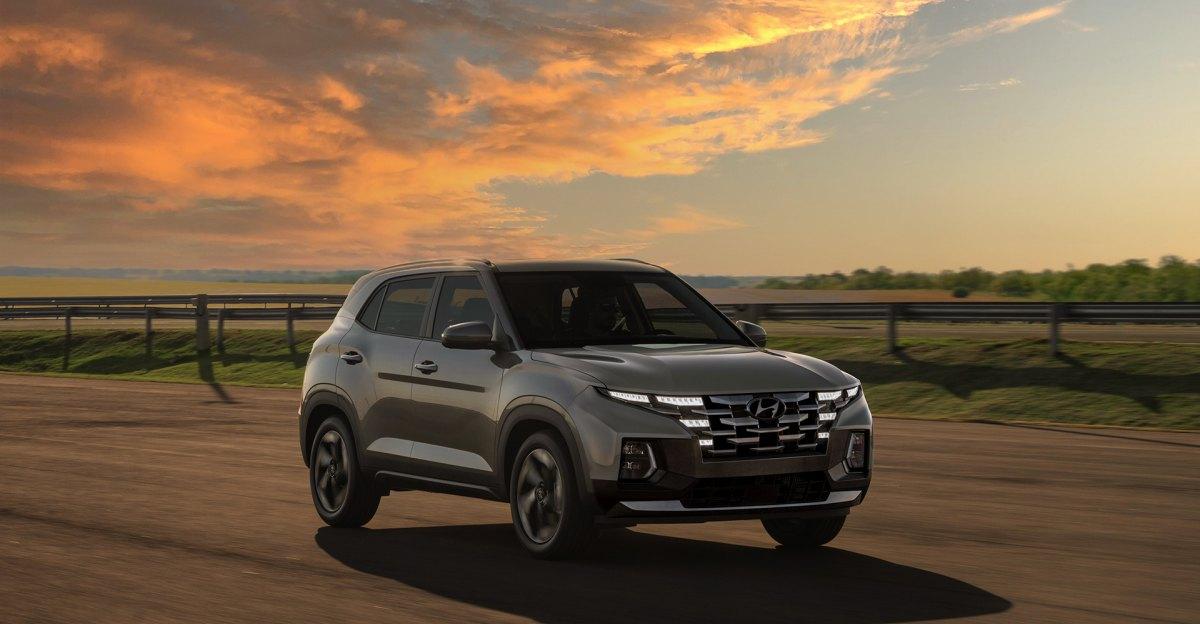 2022 Hyundai Creta Facelift rendered based on spy shots