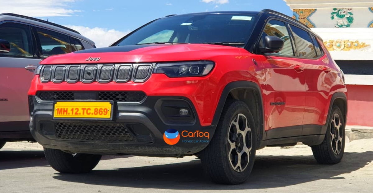 2021 Jeep Compass TrailHawk spied testing at Ladakh ahead of India launch