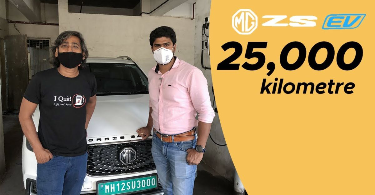 MG ZS Electric SUV: Ownership review after 25,000 kms