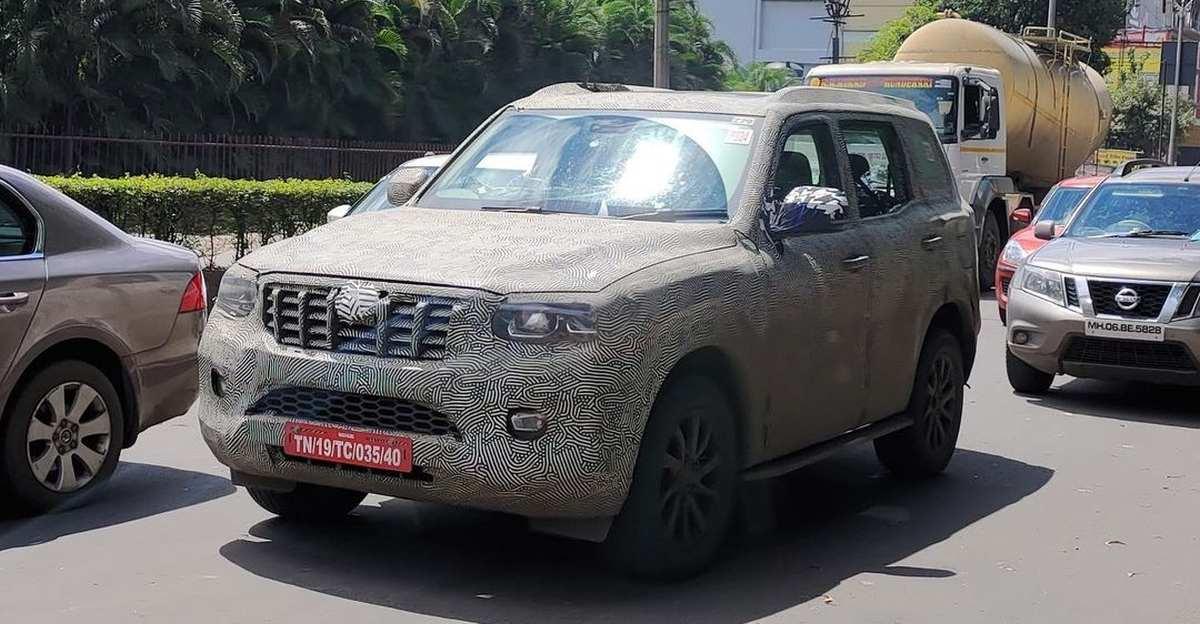 2022 Mahindra Scorpio SUV spied ahead of launch