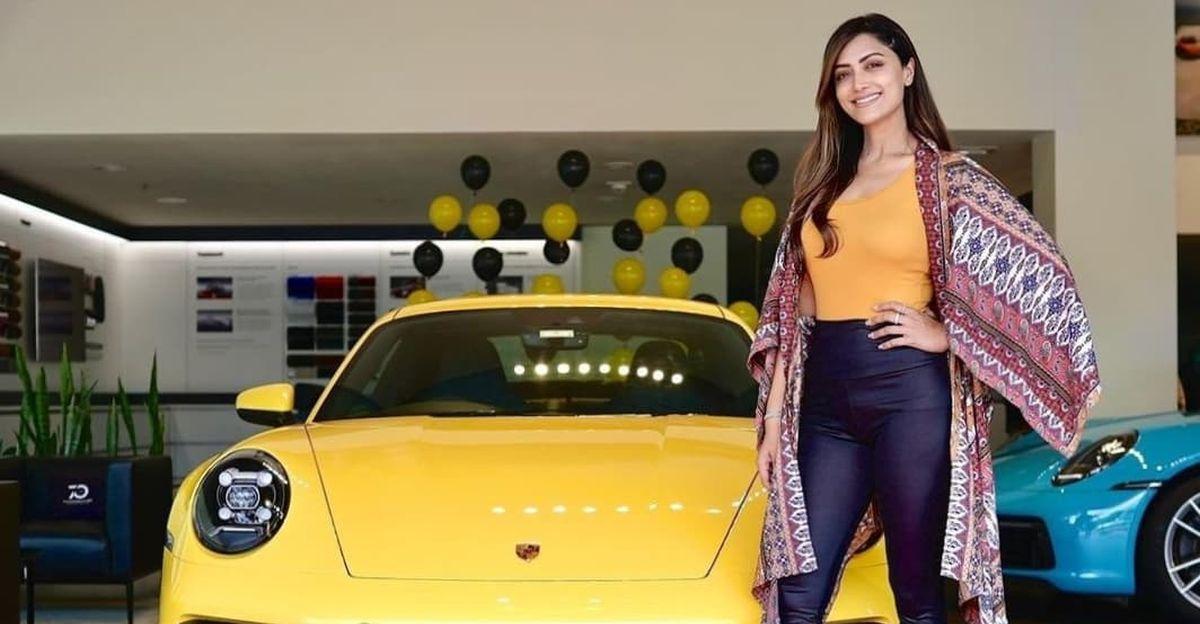 Malayalam movie actress Mamta Mohandas buys Porsche 911 Carrera S sports car