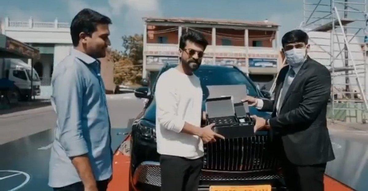 Telugu Movie Star Ram Charan buys a Mercedes-Maybach GLS600 super luxury SUV [Video]