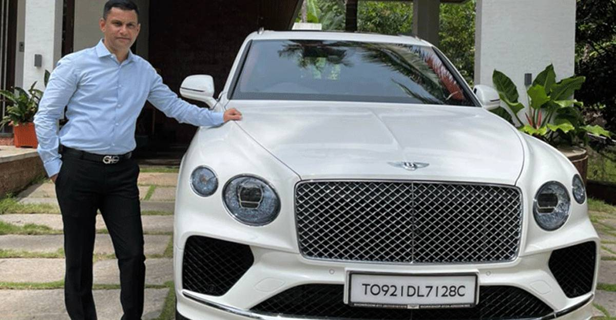 First Bentley Bentayga of Karnataka worth Rs. 6.5 crore bought by millionaire builder