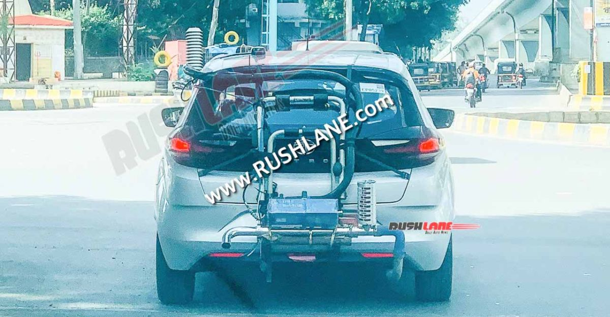 Tata Altroz CNG: Spotted testing before launch