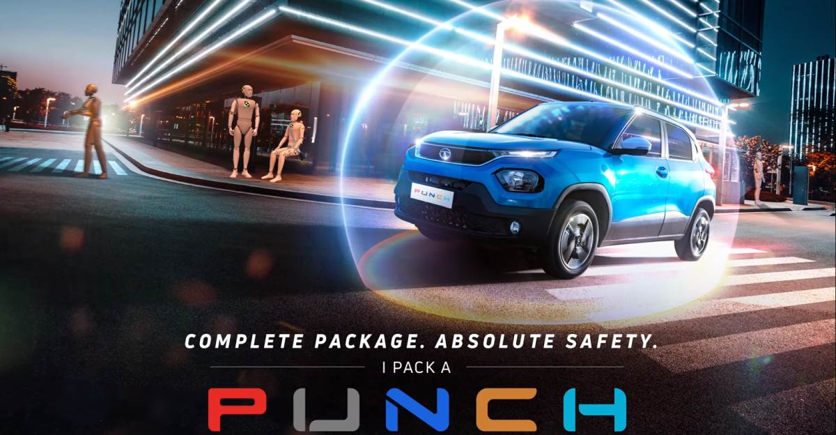Tata Punch: New teaser emphasizes absolute safety for the upcoming micro SUV