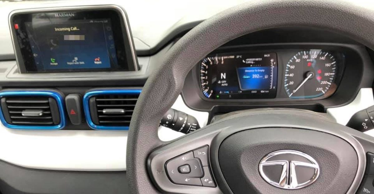 Tata Punch micro-SUV interiors leaked ahead of launch