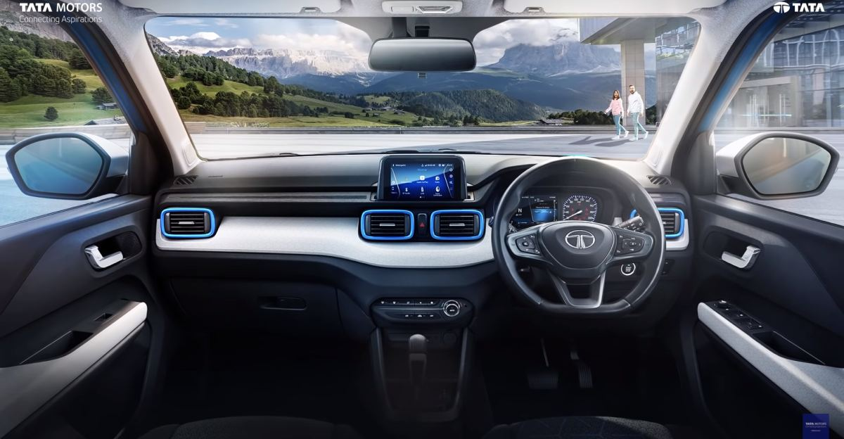 Tata Punch micro-SUV interiors revealed officially