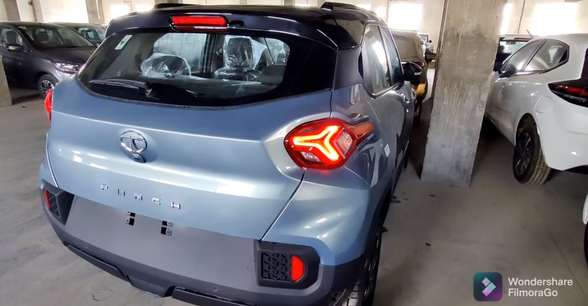 Tata Punch micro-SUV in a new walkaround video