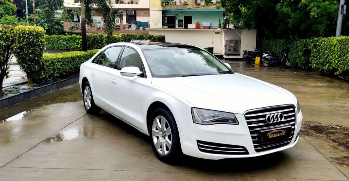 Feature-loaded Audi A8L super luxury sedan for sale