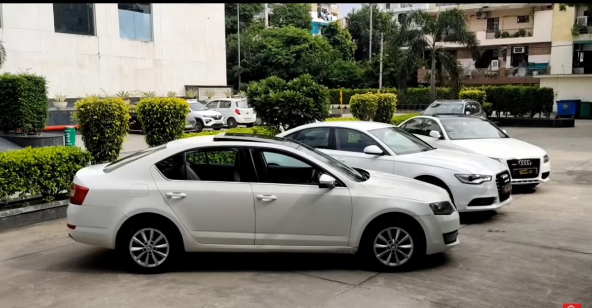Well maintained, Used Skoda and Audi luxury sedans available at affordable prices