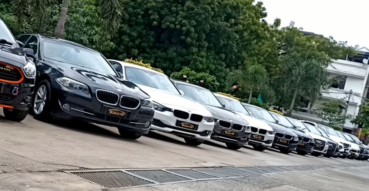 5 used, well maintained BMW luxury cars available for sale from 8.95 lakh