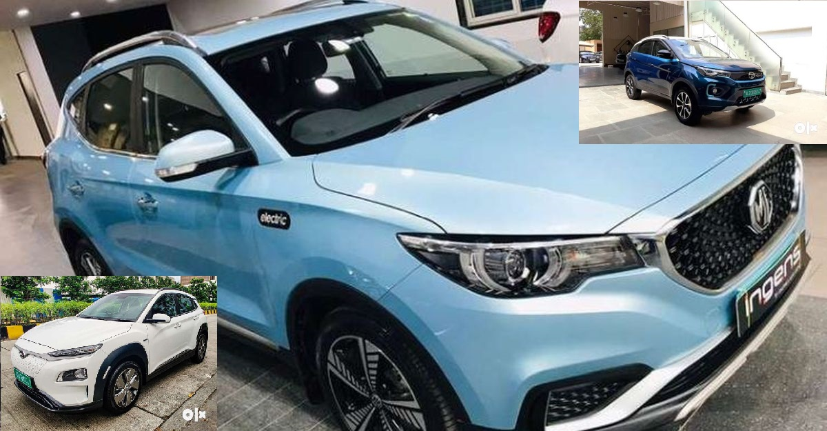 5 used Electric SUVs for sale: Tata Nexon EV to MG eZS