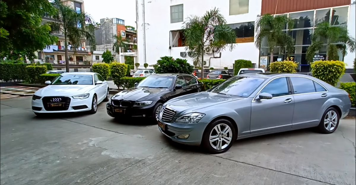 Well maintained, used Audi, BMW & Mercedes-Benz luxury sedans available at affordable prices