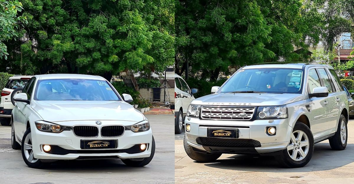 Used Range Rover Freelander 2, Mercedes ML250 and BMW 3-series for sale in Delhi