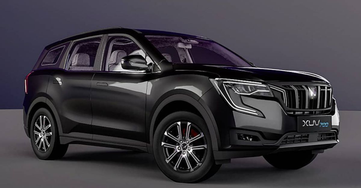 Mahindra XUV700 Dark Knight Edition: What it could look like
