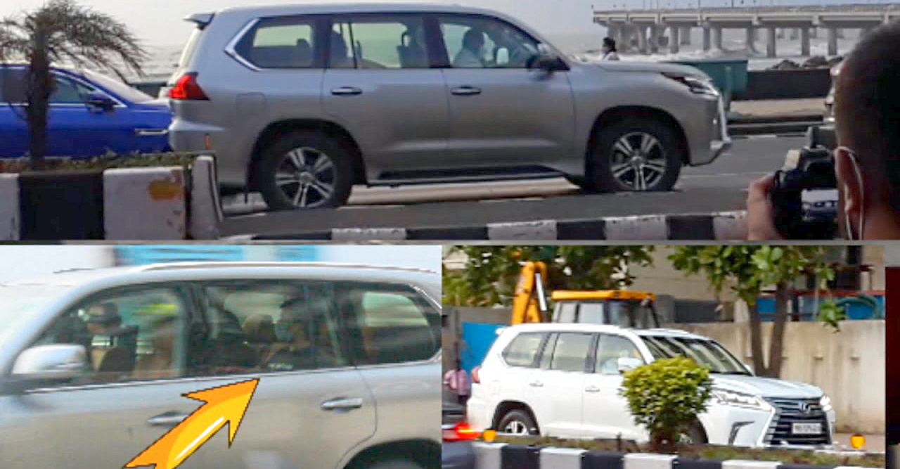 Billionaire Anant Ambani spotted in two brand-new Lexus LX570 super luxury SUVs [Video]
