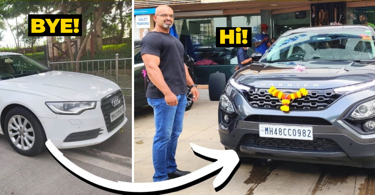 Audi A6 owner explains why he sold luxury sedan to buy Tata Harrier SUV