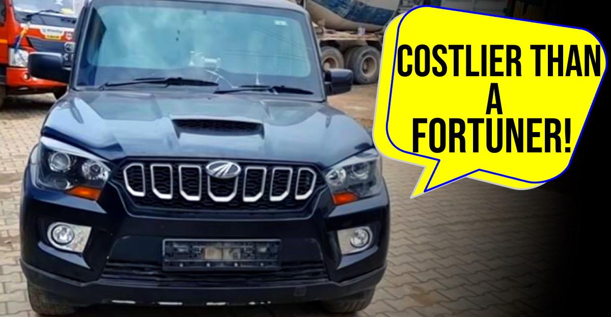 This bulletproof Mahindra Scorpio costs an eye watering Rs. 48 lakh [Video]