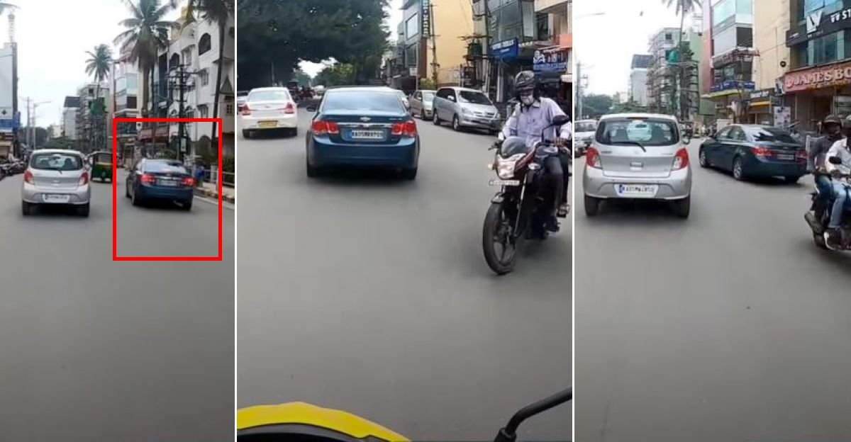 Bangalore police cancel driving license of Chevrolet Cruze owner after his rash driving video goes viral