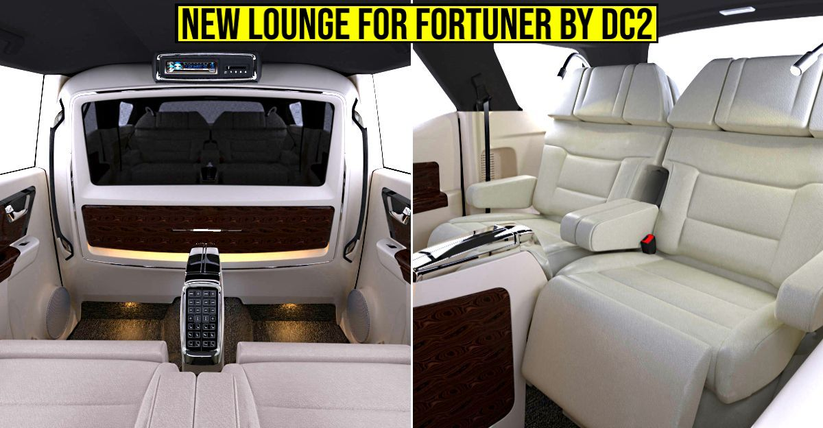 DC2 customized Toyota Fortuner has cabin feel of a Rolls Royce