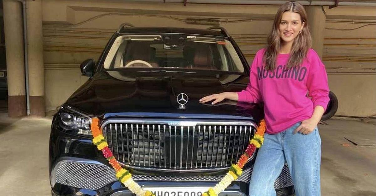 Kriti Sanon is first Bollywood actress to bring home the 2.5 crore Mercedes-Maybach GLS600 super luxury SUV