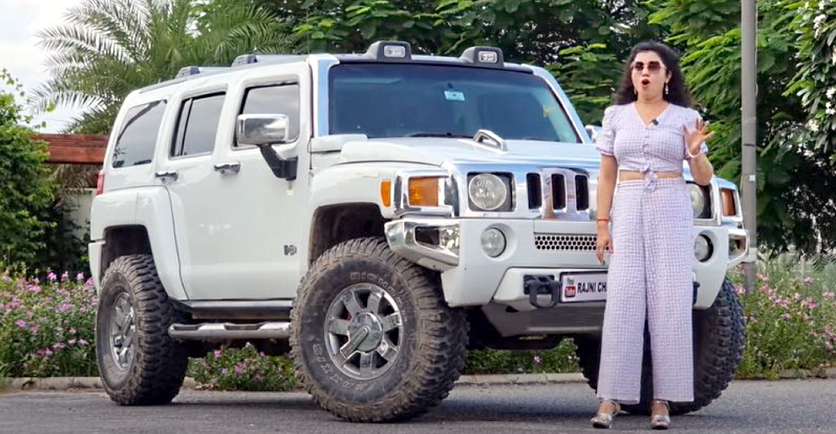 What it's like to drive a Hummer on Indian roads