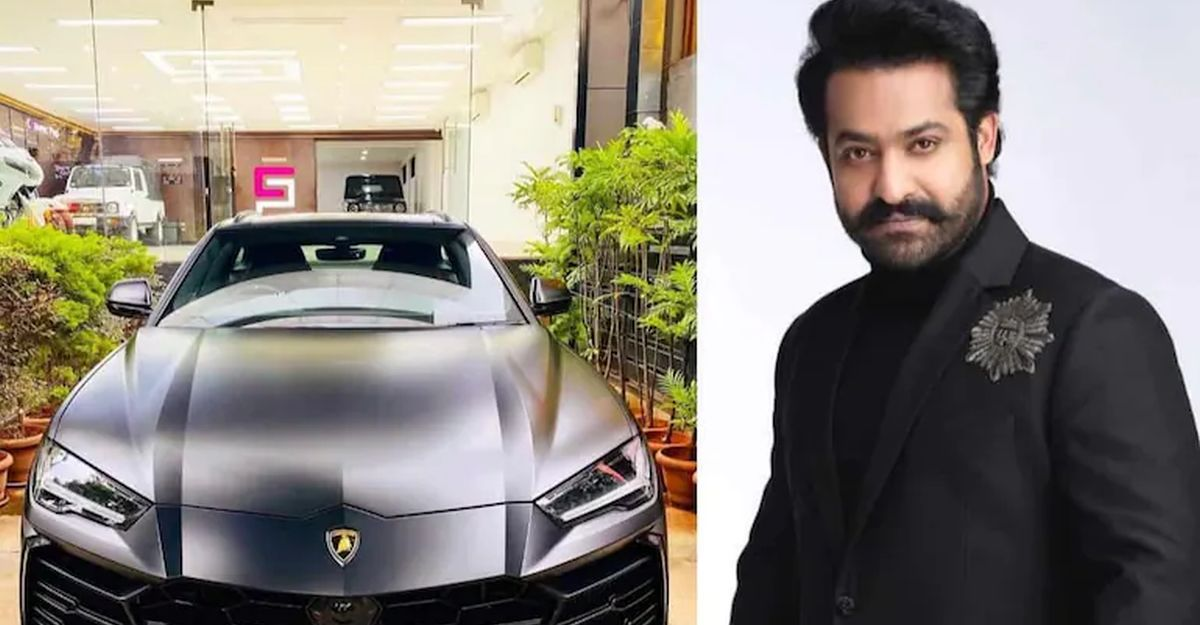 Telugu movie star NTR Jr spends Rs. 17 lakh to buy special number for his Lamborghini Urus