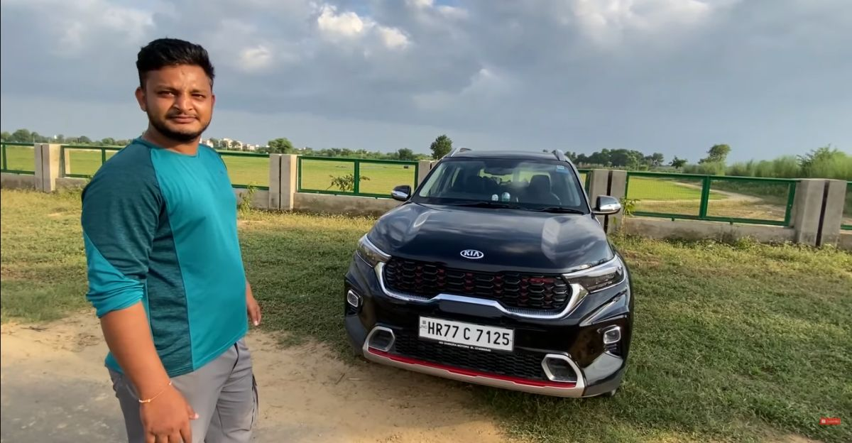 Kia Sonet Top-end GT Line version with iMT gets aftermarket CNG Kit