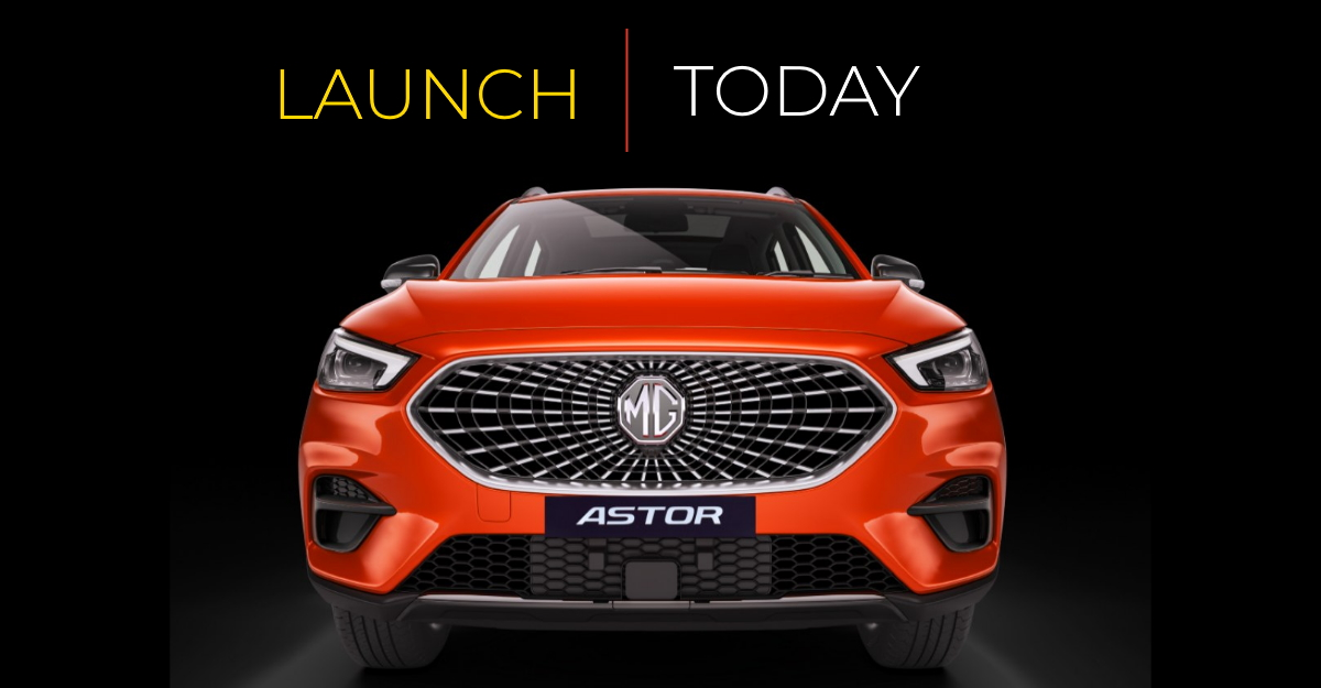 MG Astor launch today: Engine options revealed already