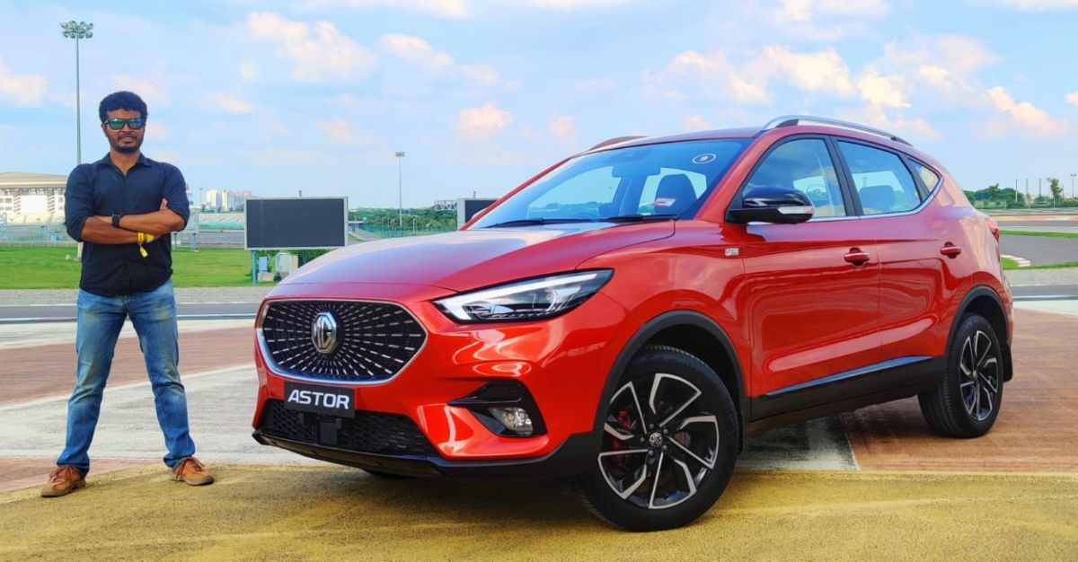 MG Astor compact SUV in CarToq's first drive review