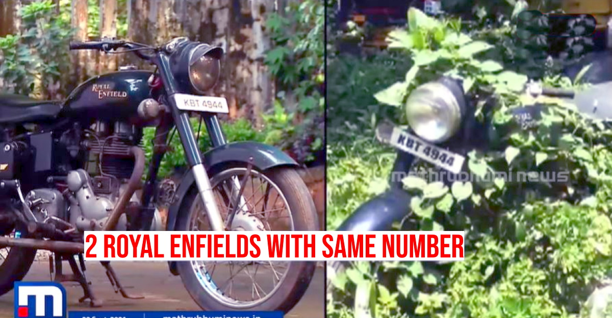 RTO finds two Royal Enfield Bullets with exactly same registration, chassis numbers