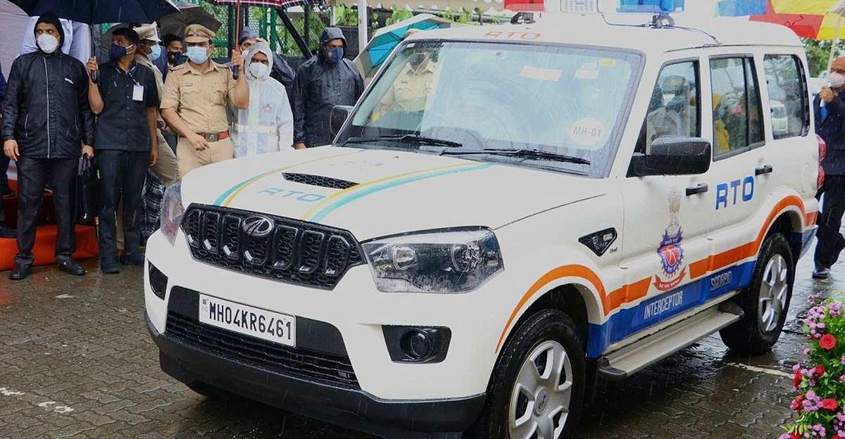 Maharashtra RTO receives 76 new Mahindra Scorpio SUVs for patrolling