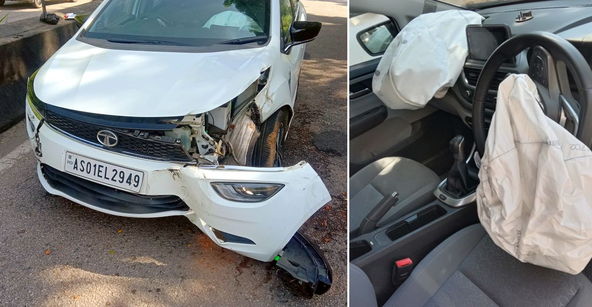 Tata Altroz owner thanks car's solid build quality for saving his life