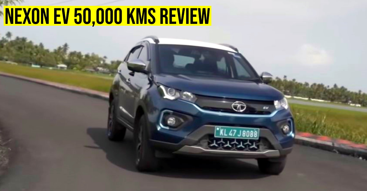 Tata Nexon Electric SUV : Ownership experience after completing 50,000 kms
